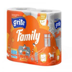 Grite Family 4 tekercses toalettpapír