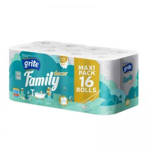 Grite Family Decor 16 tekercses toalettpapír