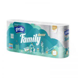 Grite Family Decor 8 tekercses toalettpapír