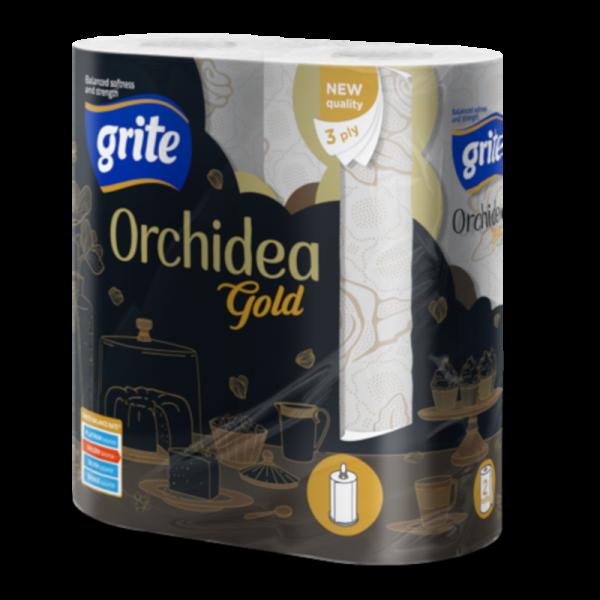 Grite Orchidea Gold 2 tekercses háztartási papírtörlő