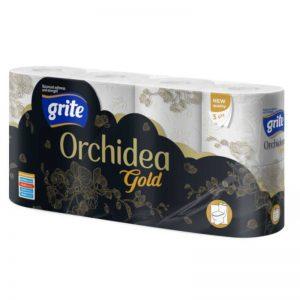 Grite Orchidea Gold 8 tekercses toalettpapír